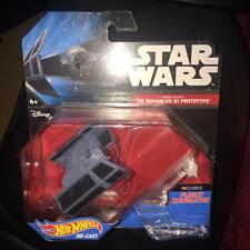 Darth Vader's Tie Advanced X1 Prototype star wars HOT WHEELS DIE CAST NEW SEALED