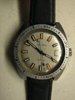 VINTAGE TRADITION ELECTRONIC DIVE WATCH Swiss Automatic Diver Prof. Serviced