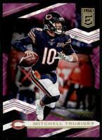 2020 Elite Purple #63 Mitchell Trubisky /99 - Chicago Bears