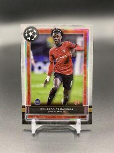 2020-21 Topps UEFA Champions League Museum - Eduardo Camavinga RC Rookie #47