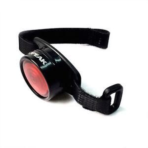 Topeak Tail Lux 1/2 Watt Rear Bike / Bicycle Light Helmet, Bag & Rack Mount [UK]