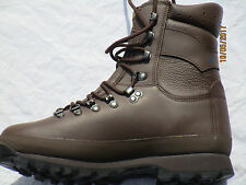 Alt-Berg Defender Botas Combat High Liability MARRÓN Macho, talla 9W (EU43/
