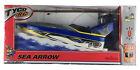 TYCO RC Sea Arrow Boat 6.0v Jet Turbo Nicd Black/Blue 2002 Mattel *Mint In Box*