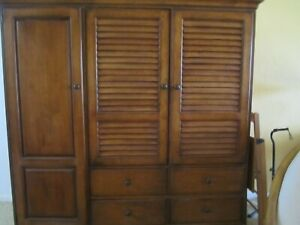 TOMMY BAHAMA style TV armoire ~ EXCELLENT !!