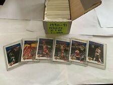 1990-91 Hoops 1&2 Basketball set of 440 w/1-6 Slam Dunks New