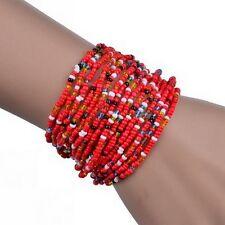 Perlenrarmband  Armband  Armreifen Damen Schmuck Perlen Afrika  Design  Neuware