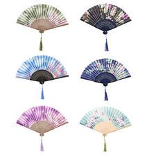Japanischer Fächer Faltfächer Klappfächer Taschenfächer mit Quaste