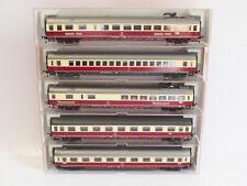 MB479 Fleischmann H0 - 5160 5161 5162 5163 5165 TEE Personenwagen Quick Pick DB