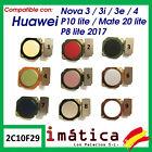 Button Home For Huawei P8 lite 2017 Nova 3 3i 3E 4 P20 Matt 10 Lite Flex Menu