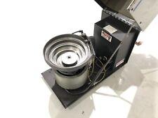 Cem Carlson Engineering C 50 Vibratory Feeder System Screw Feed 9 Bowl