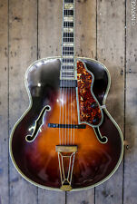 1946 LEVIN DeLUXE ARCHTOP SEMI ACOUSTIC BIG BAND GUITAR & HARD SHELL CASE