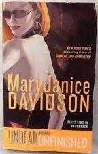 Undead & Unfinished Mary Janice Davidson paperback 2011 Jove Paranormal Romance