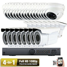 HD 32CH 2.6MP 1080P HDTVI (24) Support 4 in 1 AHD 960H TV Security Camera System