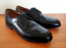 Loake Fontwell Black Three Eyelet Derby Shoes (UK 7.5 Width G)