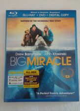 Big Miracle (Blu-ray Disc,DVD & Digital Copy)2012 Brand New