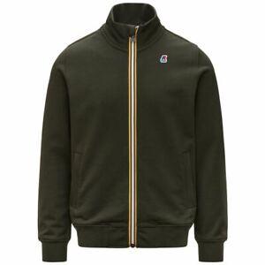 Men's Sweatshirt Full Zip Jacket Pockets With Flap K-Way K7112EW Finn A/I 2021