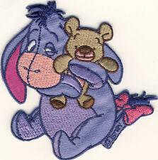 Winnie the Pooh Pu der Bär - I-Aah Eeyore - Aufnäher Aufbügler Patch Badge #9144