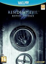 Nintendo Wii et jeu RESIDENT EVIL RÉVÉLATIONS WiiU NOUVEAU