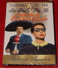 Aquí Esta Tu Enamorada (DVD, 2005) Antonio Aguilar Español Clasicas De Oro NEW