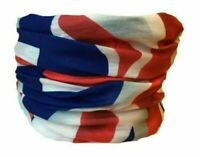 Union Jack Snood Scarf Microfibre Neck Warmer Hat Ski Snowboarding Multifunction