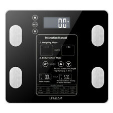 Digital Smart Bathroom Scale Body Weight Fat BMI Analyzer Health Fitness Scales