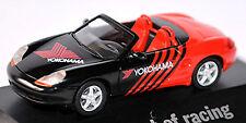 PORSCHE BOXSTER TIPO 986 Cabrio 1996-2005 YOKOHAMA Rojo Rojo 1:87 Herpa