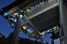 LED Girlande mit Lichterkette Mix Warmweiß Weiß 2,7m/5m/8,1m/10m Tannengirlande
