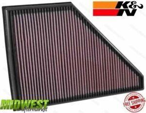 K&N Replacement Air Filter Fits 2017 Cadillac XT5 GMC Acadia 2.5L 3.6L