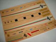 F1 DECALS 1/43 FERRARI CAMION TRASPORTO F1 1980 DECAL 1/43
