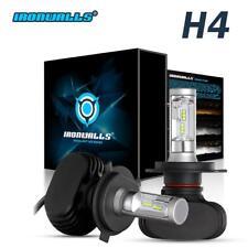2x H4 9003 243000LM 1620W LED Car Headlight Kit Hi Lo Beam Light Bulbs 6000K HID