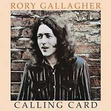 RORY GALLAGHER - CALLING CARD - NEW CD ALBUM