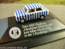1/87 Herpa Trabant MSV Duisburg Bundesliga 1991/1992