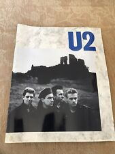U2 Unforgettable Fire Tour Programme