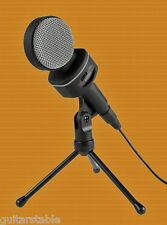 AUKEY Condenser Microphone, Bidirectional Volume Control and Tripod Stand No Res