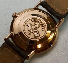Fine Vintage 18K Gold Omega Seamaster 24J  Caliber 571 wristwatch  No Reserve