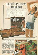 X9382 Atlantic - Basket - Calcio - Pubblicità 1975 - Advertising