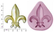 FLEUR De LYS Soap Candle Crayon Craft sugarcraft Fimo Chocolate Mould Mold