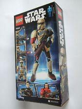 Lego Star Wars Kit ~ Scarif Stormtrooper Buildable Figure ~89 Pcs ~NEW in Box!