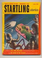 Startling Stories January 1954 Vintage Pulp Magazine Fine ~ Sci-Fi Bondage Cover