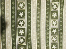STARS STRIPES CAMO BORDER ARMY MILITARY USA COTTON FABRIC FQ
