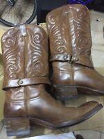 Stivali originali Sendra Boots texani camperos cowboy Biker UOMO DONNA Brown 39