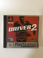 Driver 2 Back on the Streets (15+) (PlayStation 1 Platinum, PS1) 2000 Complete