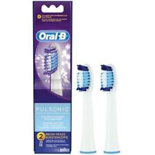 2 marrón oral-B cepillos insertables pulsonic sr32-2 cepillos cabezas