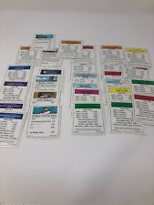 Family Guy Monopoly Replacement Title Deed Cards Mortgage Properties 28 Cards