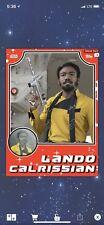 Topps Star Wars Card Trader Solo Throwback Red Lando digital card