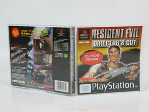 Sony Playstation 1 PS1 PAL OVP Resident Evil Directors Cut