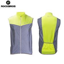 RockBros Cycling Reflective Safe Vest Sports Wind Breathable Sleeveless Vest