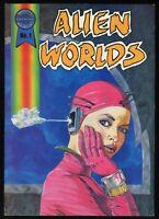 Alien Worlds Trade Paperback TPB Science Fiction like Alien Encounters Andromeda