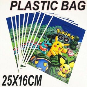 Pokemon Go Pikachu Kids Happy Birthday Party Bags Loot Bag For Every Ocassion UK