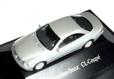 car 1/87 HERPA B66960604 MERCEDES BENZ CL 600 COUPE C215 1999 SILVER  -ver/see-